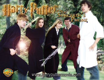 Harry Putter and the Sorcerer's Phone